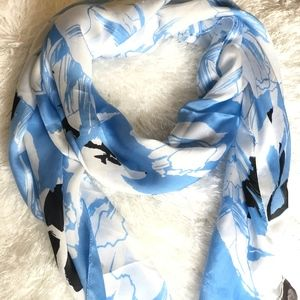Vince Camuto silk scarf.